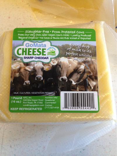 gita nigari humane slaughter free cheese cheddar