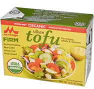 silken firm tofu box