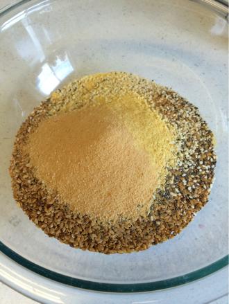 raw pumpkin flax crackers ingredients