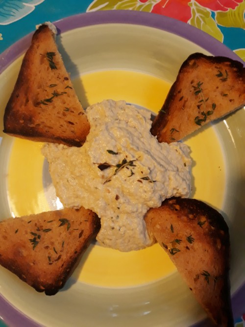 Baba Ghanoush -- Naturally Vegan, and a Cinch to Prepare!