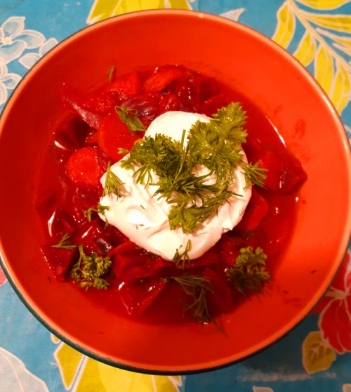 Colorful, Nutritious Vegan and Gluten-Free Borscht is Perfect For a Winter's Evening