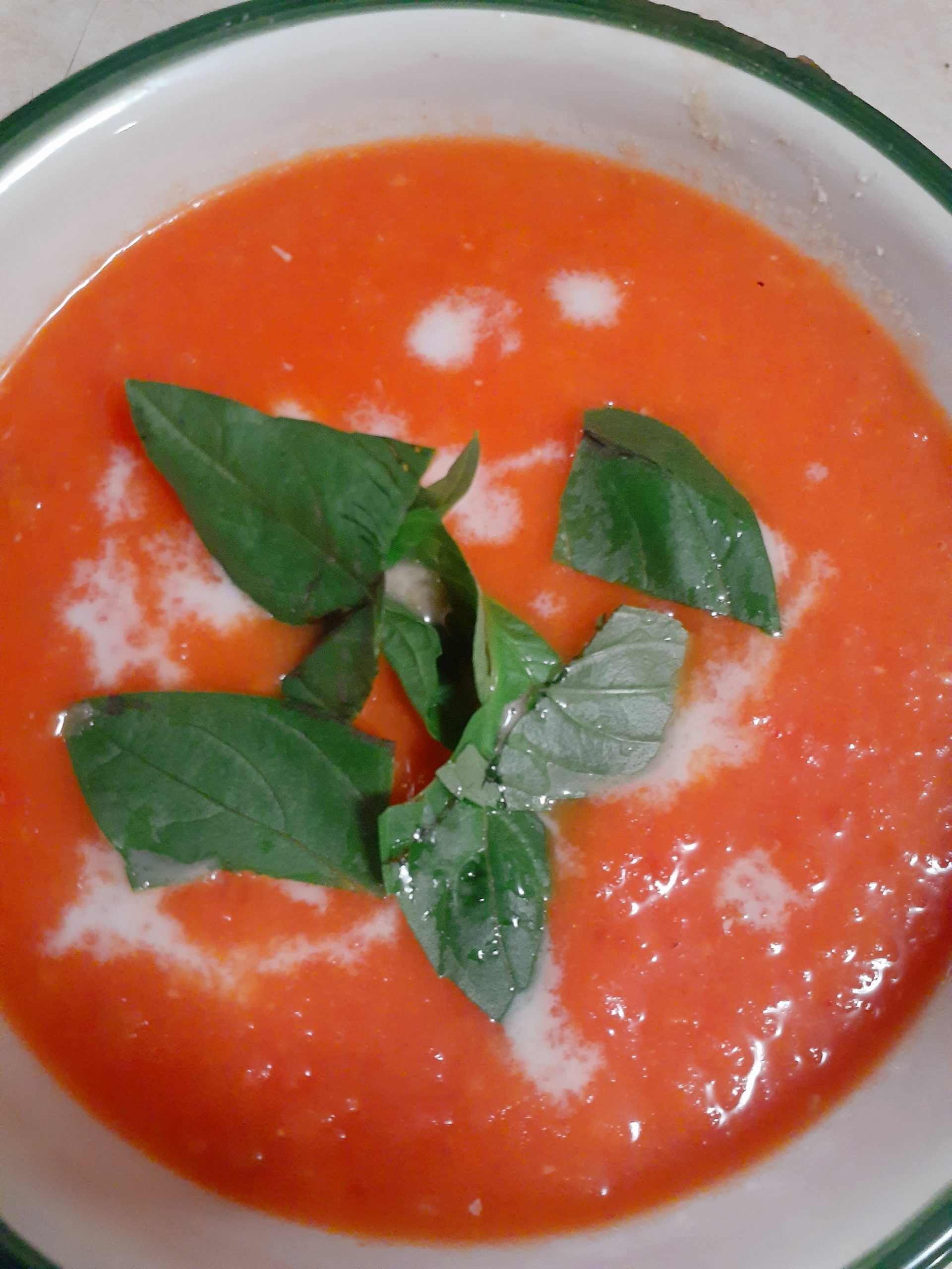 Still Chilly Where You Live? Try Our Vegan, Gluten-Free Cream of Tomato Soup