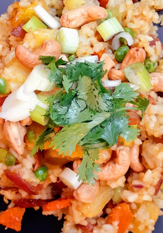 Travel to the Tropics With Our Vegan, Gluten-Free Pineapple Fried Rice