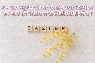 gluten free easter desserts