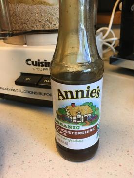 Annie's vegan worcestershire sauce