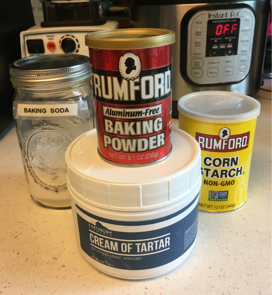 Homemade Double-Acting Baking Powder Recipe - Gluten-Free, Vegan, and Aluminum-Free!