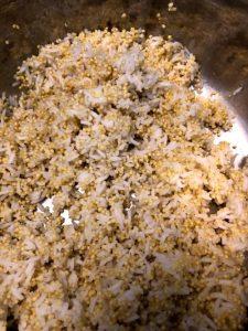 millet rice pilaf