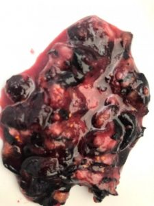 instant pot blueberry compote topping