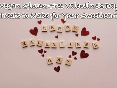 Make these sweet Vegan Gluten-Free Valentines Day Treats for Your Sweetheart
