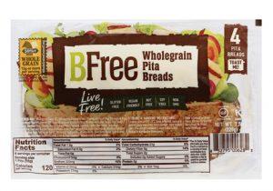 bfree pita gluten-free vegan naan bread