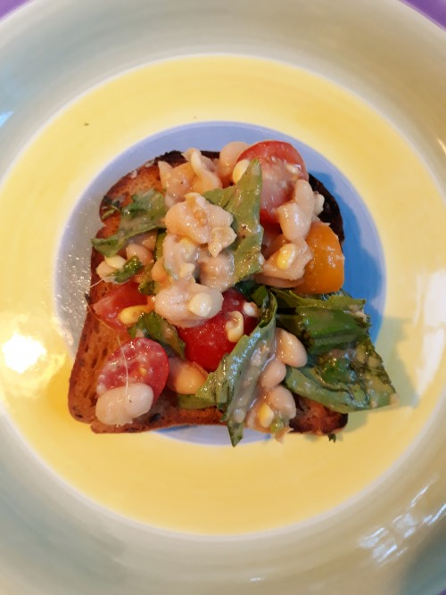 Corn, Tomato, and Cannellini Bean Salad is a Cold But Nourishing Summer Meal
