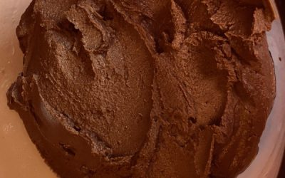 chocolate hummus recipe and ingredients