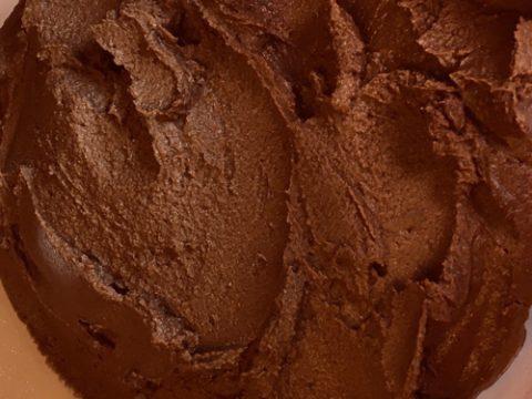 chocolate hummus recipe and ingredients