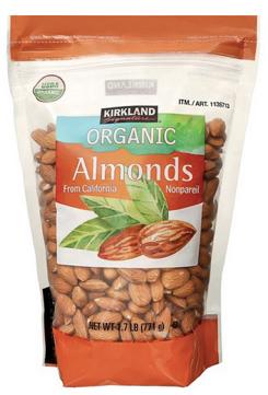 costco organic almonds