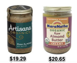 expensive almond butter