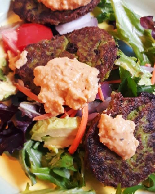 gluten-free vegan falafel recipes