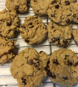 gluten-free dairy-free vegan chocolate chip cookies-1