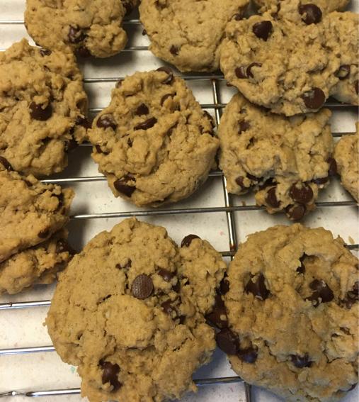 gluten-free dairy-free vegan chocolate chip cookies