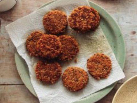 gluten-free vegan breakfast sausage credit: Izy Hossack
