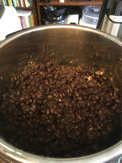 gluten free vegan cuban black beans with sofrito
