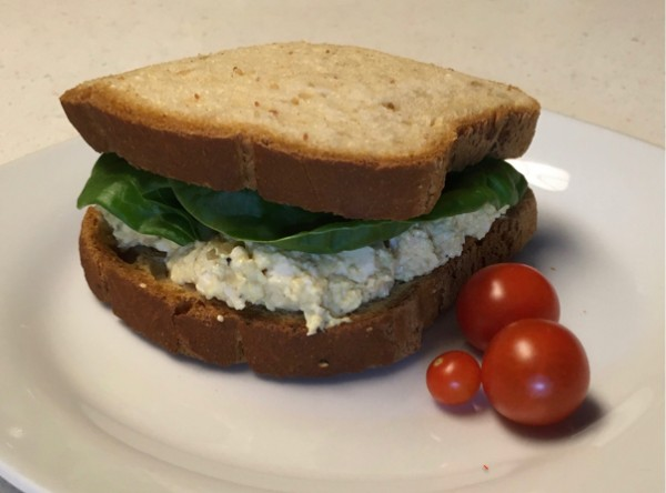 gluten-free vegan egg salad recipe
