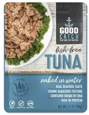 good catch fish free vegan tuna