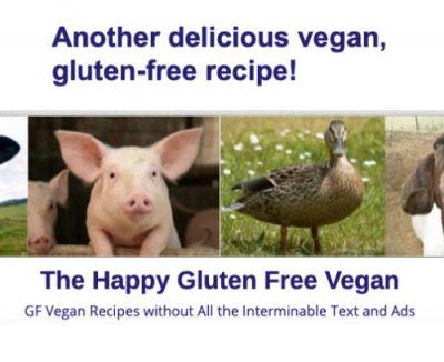 happy gluten free vegan default image