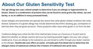 healthlabs gluten sensitivity test
