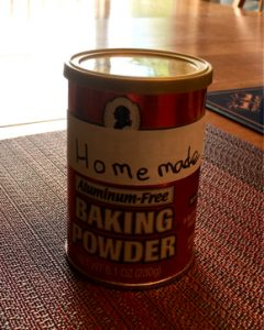 homemade baking powder