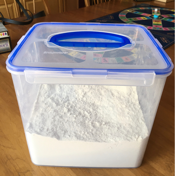 homemade gluten-free potato-free all purpose flour mix