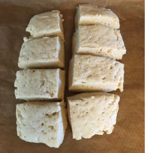homemade gluten-free vegan biscuits