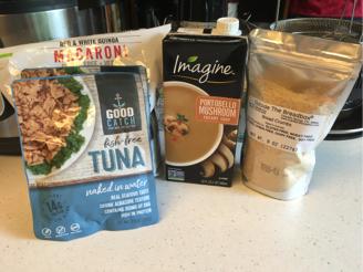 instant pot vegan tuna noodle casserole