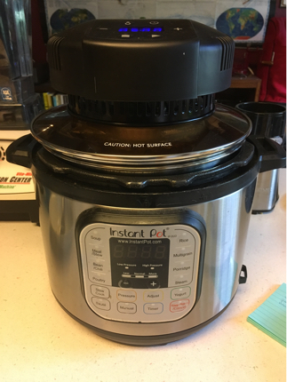 mealthy crisplid crisp lid instant pot air fryer
