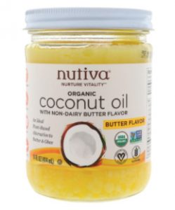 nutiva butter flavor coconut oil