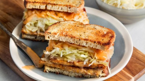 Vegan Tempeh Reubens: Gluten-Free, Rich and Creamy Without Meat or Dairy!