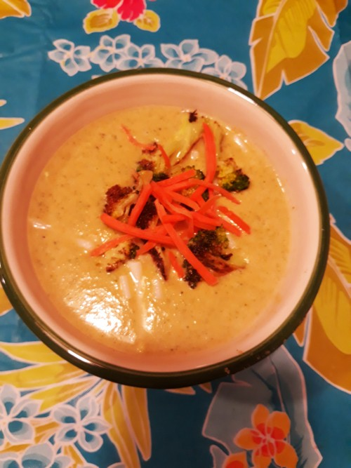Vegan, Gluten-Free Cream of Broccoli Soup - Easy to Make Vegan AIP Friendly!