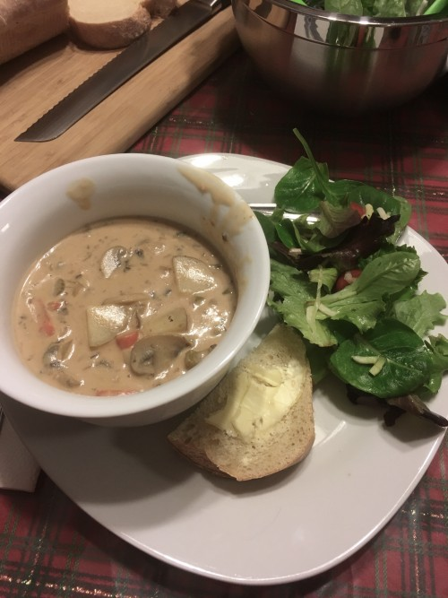 vegan new england clam chowder
