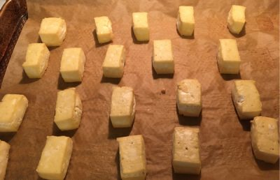 tofu pre baked in oven