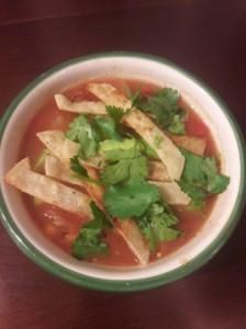 Black Bean Tortilla Soup—Vegan, Gluten-Free and Filling