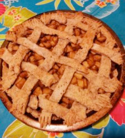 vegan dairy-free gluten-free apple pie