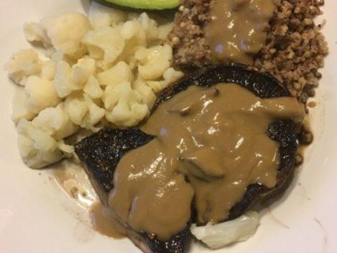 vegan gluten-free mushroom gravy recipe