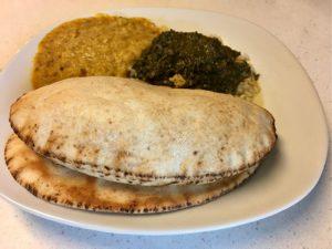 vegan gluten-free pita naan bread