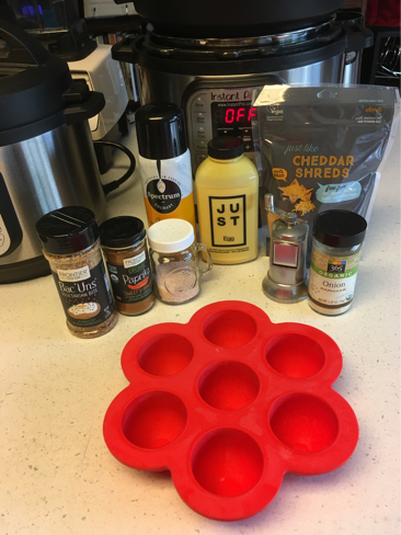 vegan instant pot egg bites ingredients