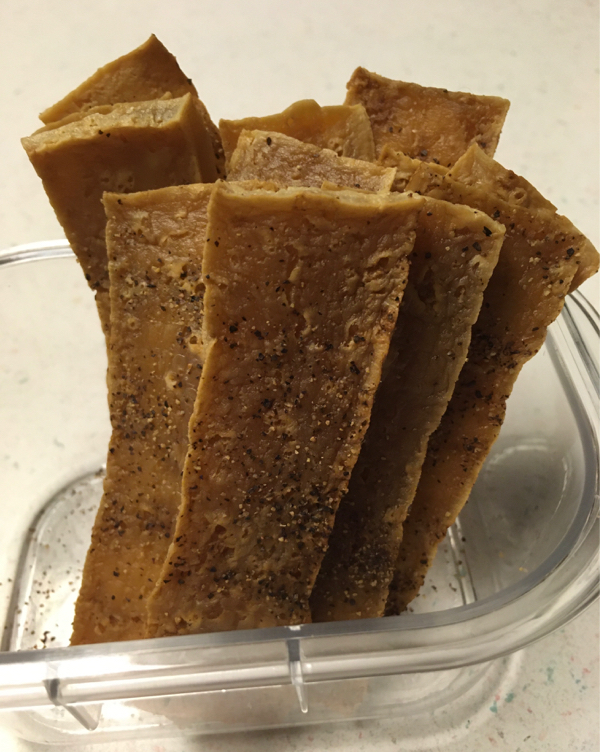vegan tofu jerky recipe